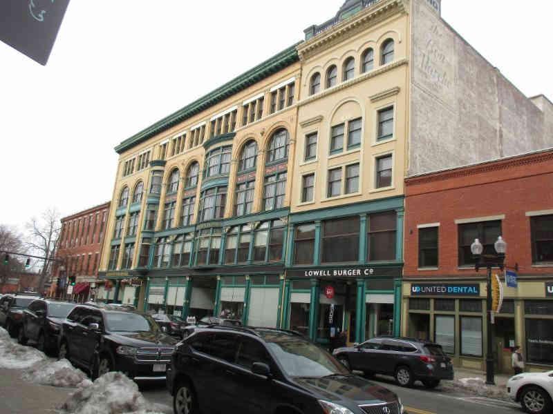The old Jordan Marsh building in downtown Lowell.