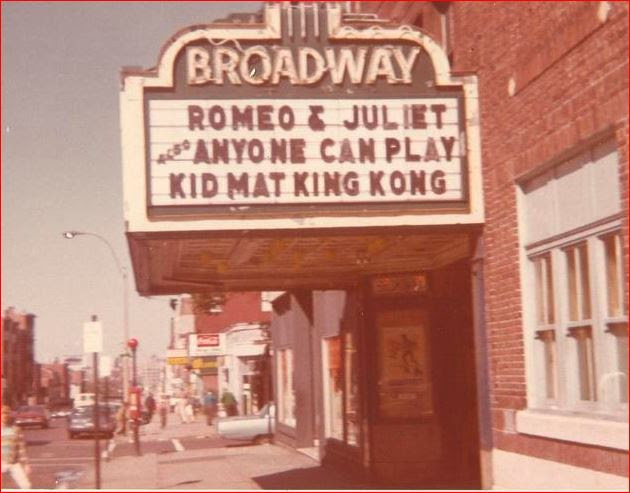marquee for South Boston's Broadway Theater, commercial building development MA, commercial property appraisal Massachusetts